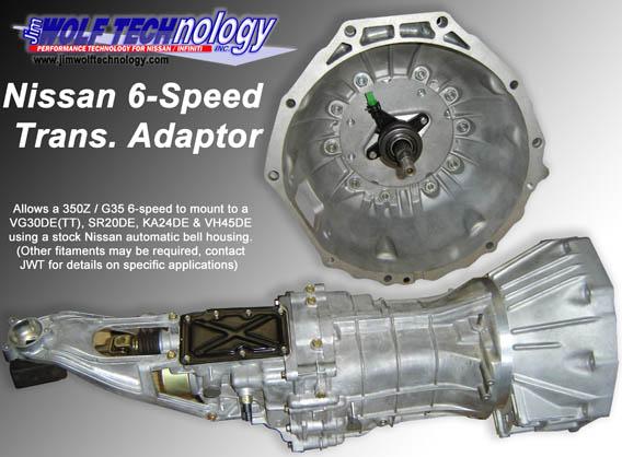 JWT 350Z 6-speed gearbox swap - www ka-t org